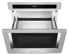 Under Counter Microwave, Microwave In Island, Microwave Drawer, Built In Microwave, Built In Ovens, Microwave Oven, Kitchen Countertops, Kitchen Appliances, Apron Front Kitchen Sink