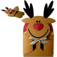 JMRush Designs: Reindeer Hug Gift Card Holder