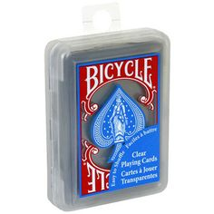 Bicycle Clear Poker Cards