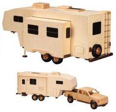 wooden vehicle