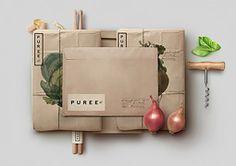 Puree Organics Branding by Studioahamed