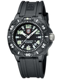 Luminox Mens Sentry Sports Watch - Black Dial & Strap - Luminous Hands & Markers