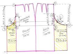 * Daca aveti un tipar de fusta clasica, care vi se potriveste, puteti sa-l transformati foarte simplu intr-un tipar de fusta pantalon, mai ...