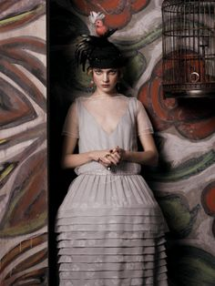 Steven Meisel for vogue us may 2007 inspired by Paul Poiret