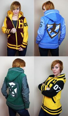 Must Have: Custom Handmade Harry Potter Letterman Jackets