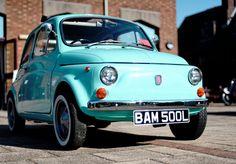 Fiat 500 L...love this color <3