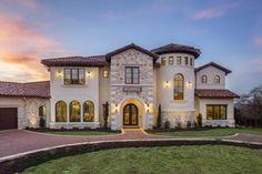 Clean European | Vanguard Studio | Architect Austin, Texas Casas Texas, Texas Mansions, Texas Homes, Mediterranean Homes, Austin Texas, Cheesecakes, Dream Homes, Tuscany, My House