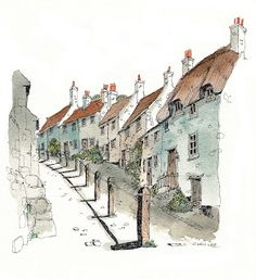 Chris Lee: Villages urban sketcher- blog