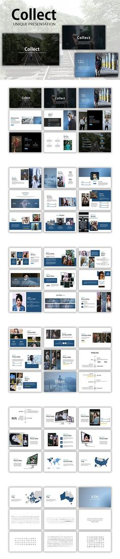 Collect Keynote Template. Presentation Templates
