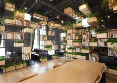 Home Cafe by Penda Beijing China 10 Home Café by Penda, Beijing China