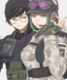 Rainbow Six Siege Dokkaebi, Rainbow 6 Seige, Tom Clancy's Rainbow Six, Rainbow Art, Ela Bosak, R6 Wallpaper, Nintendo Characters, Rainbow Wallpaper, Anime Oc