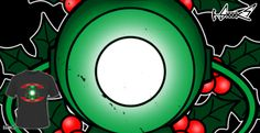 Magliette - Design: Green Christmas Lantern - by: Boggs Nicolas