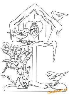 Vánoční-zimní vystřihovánky na okna by aurora Decoupage Vintage, Colouring Pages, Coloring Books, Christmas Colors, Christmas Crafts, Paper Cutting Patterns, Paper Art, Paper Crafts, New Year Pictures