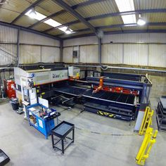 Farewell to our faithful Amada LC 2012 C1NT 5Years ago we were the first UK firm to be operating one of these units and now it's finished it's last shift. Its going to a new home and in its place a new fibre laser for us! #lasercutting #ukmanufacturing #Nottingham #amada #punch #metalwork #fabrication #cnc