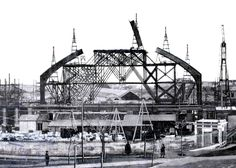 Construcción de la Estación de Atocha. 1889