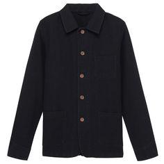 Organic cotton Indigo jacket New Outfits, Sale Items, Indigo, Organic Cotton, Sweaters, Jackets, Men, Clothes, Fashion