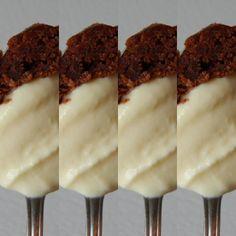 Lo bueno bueno se debe repetir en pequeñas dosis. Nuestro helado de Parchita y un pedacito de brownie. Pffffff! #emparamados