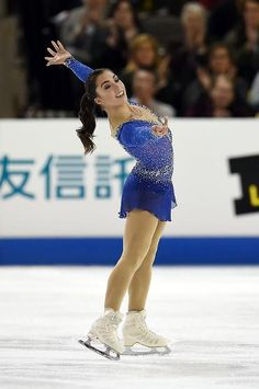 Gabrielle Daleman of Canada finishes 4th at Skate America 2016