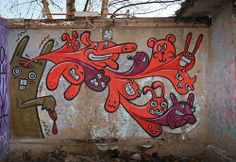 Graffiti around Tampere, Finland. by katutaide, via Flickr