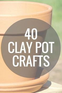 clay pot lighthouse Over 40 clay pot crafts that you can make in 15 minutes or less! Grab your terra cotta pots and get started on these DIY projects! Flower Pot Art, Clay Flower Pots, Flower Pot Crafts, Clay Pot Projects, Clay Pot Crafts, Diy Clay, Dyi Crafts, Shell Crafts, Upcycled Crafts