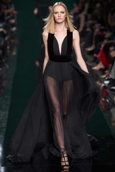 Elie Saab Fall 2014 Ready-to-Wear Fashion Show - Daria Strokous (Women)
