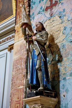 Joan of Arc - The church of Gordes