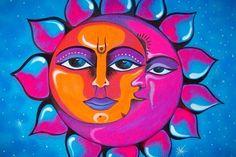 ondulyne: Sun and Moon by ~ShoneFluoArt Sun Moon Stars, Sun And Stars, Taurus Art, Moon Symbols, Good Day Sunshine, Sun Designs, Sun Art, Moon Design, Star Sky