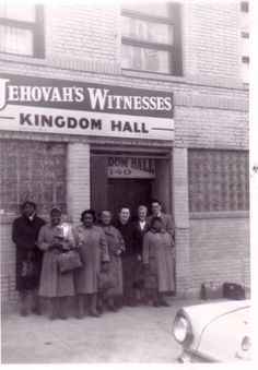 Kingdom Hall of Jehovah's Witnesses - De10:17 God treats none with partiality. - our spiritual heritage - #vintage