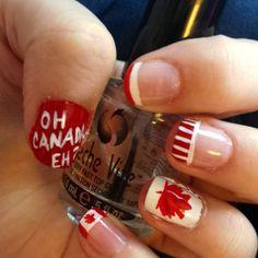 canada day nail art - Google Search Nail Art Diy, Diy Nails, Canada Day, Art Google, Google Search