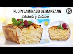 PUDÍN DE MANZANA | SALUDABLE Y FÁCIL | SOLO 5 INGREGREDIENTES - YouTube Cookie Desserts, Healthy Desserts, Comidas Fitness, Sweet Factory, Cake Recipes, Dessert Recipes, Pan Dulce, Stevia, Meal Planning