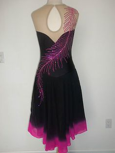 Custom Made Ice Skating Dance Dress | eBay