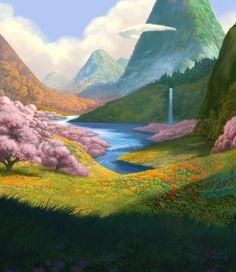 """Képtalálat a következőre: """"tinkerbell the pixie hollow concept art"""" Tinkerbell Disney, Disney Fairies, Disney Concept Art, Disney Art, Disney Magic, Palestine Art, Dragon Movies, Disney Challenge, Disney Wishes"""
