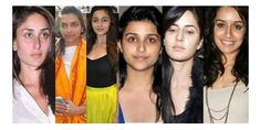 Bollywood Actresses are beautiful when they appears with makeup,Some actresses are even beautiful without makeup..Vote for the beautiful actress without makeup from the following... itimes.com