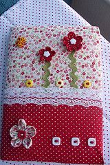 Notebook Covers, Journal Covers, Hobbies And Crafts, Diy And Crafts, Sewing Projects, Projects To Try, Fabric Book Covers, Diary Covers, Bible Covers