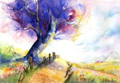 Art water color painting art