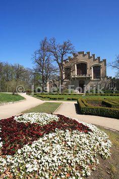 Aleš South Bohemian Gallery in the park of Hluboka Castle, Hluboka nad Vltavou…