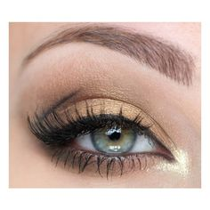 My Versace Haute Couture 2012 inspired make up ❤ liked on Polyvore