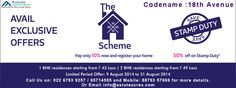Avail #Exclusive #Offer on #Codename: #18thAvenue #Lodha #Palvas #HighstreetCity