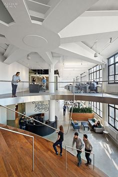 wieden kennedy by workac 4 this new advertising agency office design in new york puts work before play