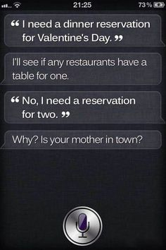 13 Times Siri Outsmarted Us All: Siri — what a gift, that girl.
