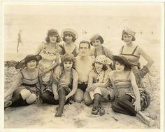 vintage everyday: 30 Interesting Photos of Swimwear Styles in the Victorian Era