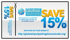 global airport coupon code