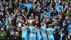 Let's paint Manchester blue once again. Thanks to Sergio Aguero for his late heroics against Man United last Sunday in their recent #Manchester Derby.