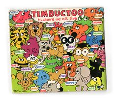Timbuctoo book (back cover), written and illustrated by Roger Hargreaves. The series of 25 was published from The books tell the stories of a group of animals, each of whom is named after the sound that they make. Loved these books 1980s Childhood, My Childhood Memories, 1980s Kids, Old School Toys, Vintage Children's Books, Vintage Kids, Kids Tv, Old Toys, Love Book