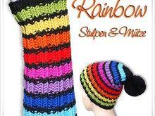 Strickanleitung Mütze Rainbow | Kostenlos