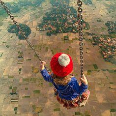 AdictaMente: Impresionantes, y hermosos, fotomontajes surrealistas.