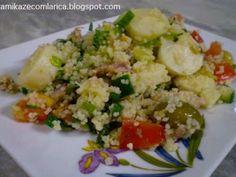 Receita Prato Principal : Cuscuz marroquino com sardinhas e legumes de Kamikaze