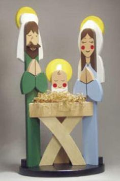 19-w2775 - Picket Nativity Woodworking Plan - Woodworkersworkshop® Online Store