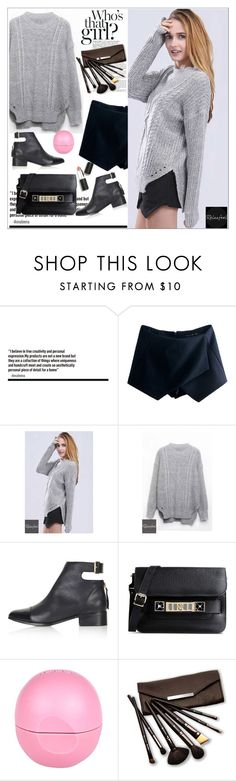 """""""Relaxfeel 6"""" by aida-nurkovic ❤ liked on Polyvore featuring Topshop, Proenza Schouler, River Island, Borghese and Sigma Beauty"""