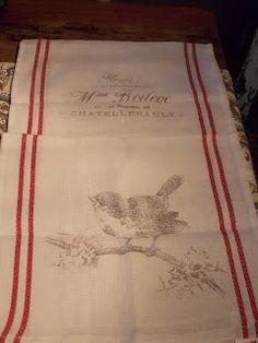 Graphics fairy tea towels